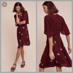 3046fd125129c Moulinette Soeurs Dresses - Anthropologie NWT Moulinette Soeurs Firefly  Dress